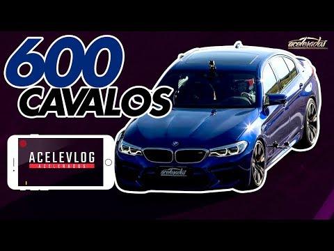 SEDÃ DE RESPEITO! BOLA MOSTRA A NOVA BMW M5 DIRETO DA CALIFÓRNIA  - ACELEVLOG #55
