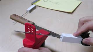 Stay Sharp Knife sharpening guide prototype