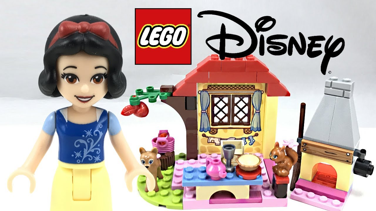 Lego Disney Snow White S Forest Cottage Review 2017 Set
