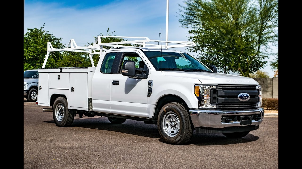 2017 Ford F-250 Sc Service Body Walkaround