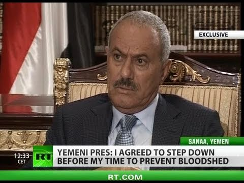 'Qatar funds chaos in Arab world' - Yemeni President exclusively for RT