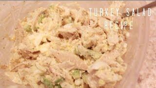 Turkey Salad Recipe (The Best Thanksgiving Leftovers!)