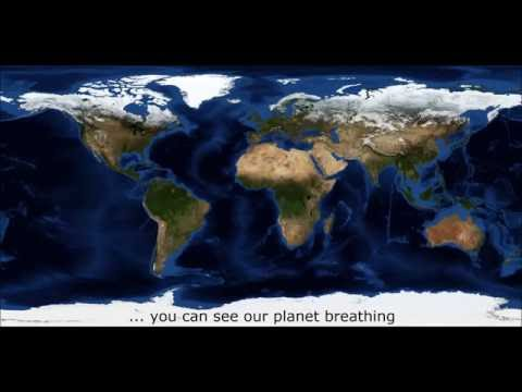 The Breathing Earth | Animated Data Visualization of NASA images | GEOstata