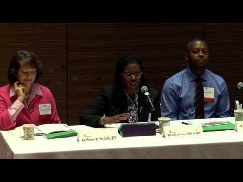 Federal, State, City Commitment to Reducing Asthma Disparities- panel
