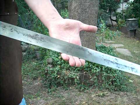 HAND FORGED CRUSADER SWORD