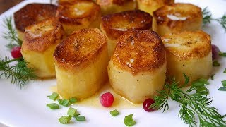 Запеченный Картофель по Французски // НОВЫЙ РЕЦЕПТ // Fondant Potatoes recipe