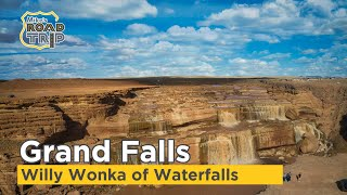 Grand Falls Arizona (aka Chocolate Falls) - The Willy Wonka of Waterfalls