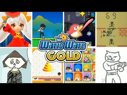 WarioWare Gold - All Secret Minigames!