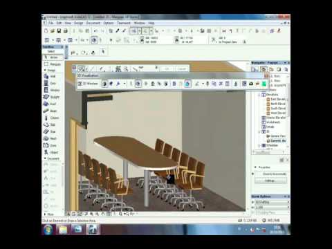 TUTORIAL ARCHICAD TO SKETCHUP LAYOUT MIDDLE MEETING ROOM