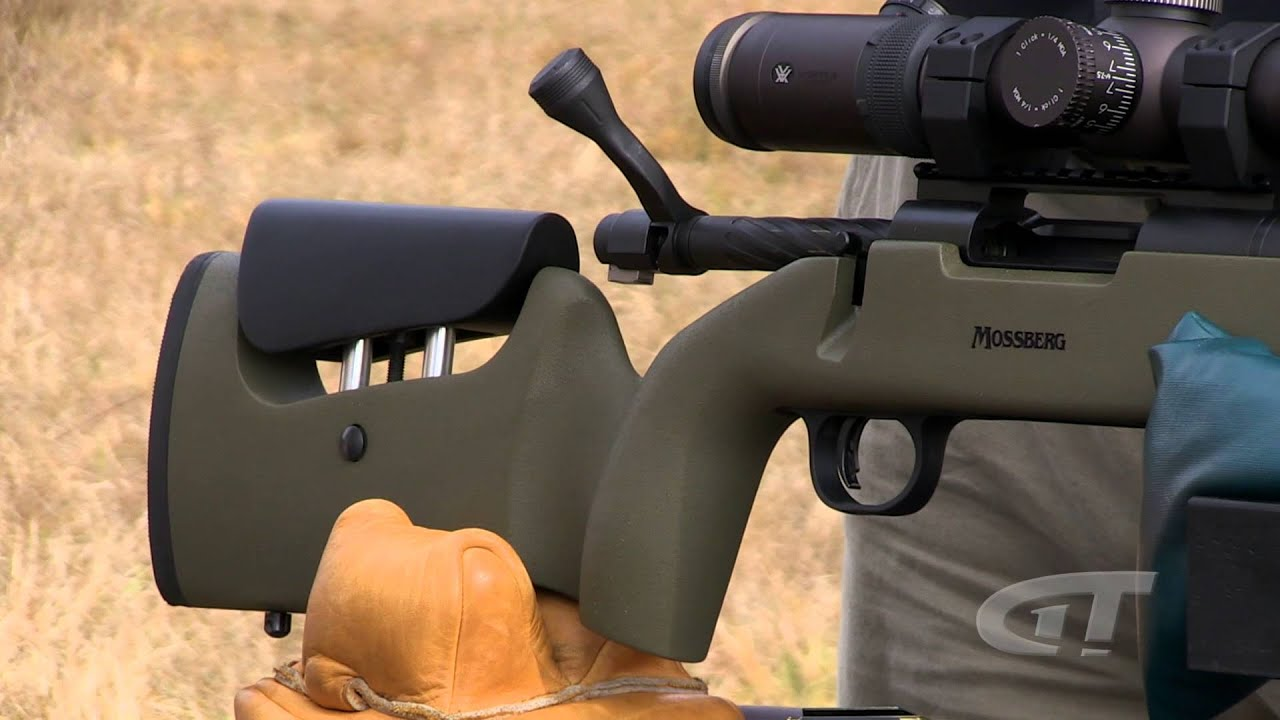 New for 2015 Mossberg MVP LR (Long Range) - GunTalk TV