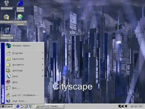 Windows 98 Original and Plus! Startup and Shutdown Sounds