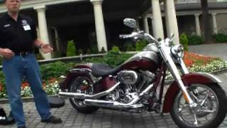 2010 Harley-davidson Cvo Model Line-up - Ice Cream With Whipped Cream And Gold Leaf