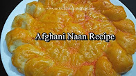 Afghani Naan Recipe (Sheermal) | Homemade Afghani Naan Roghani Recipe| Easy To Make