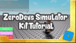 ZeroDevs Simulator Kit Tutorial | Roblox Studio Development
