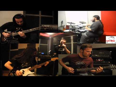 Sonata Antartika - Dragon Ball (metal cover) - playthrough video