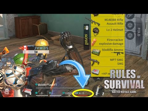 I'M A TERRIBLE TEAMMATE! Rules of Survival