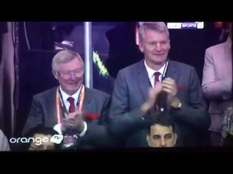 Sir Alex Ferguson and David Gill at Final Europa League 2017
