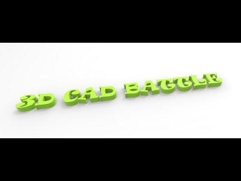 3D Battle Autodesk Inventor Vs. Catia V5