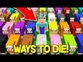 75 STRANGEST WAYS TO DIE IN MINECRAFT!
