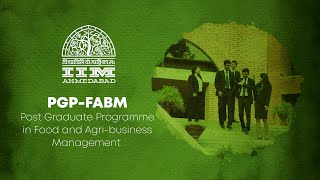 The IIMA PGP-FABM Programme - A Student's Perspective