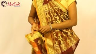 How to wear Gujarati Style Saree Easily, Quickly and Perfectly | Newlook