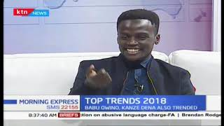 Miguna, Jowie, Maribe made it to list! Review of internet top searches 2018 | Morning express