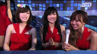 121229 SBS Gayo Daejun Dynamic Black & Dazzling RED interview