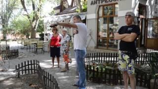 Александр Талипов о прокладке канализации в Феодосии 12 сентября 2016