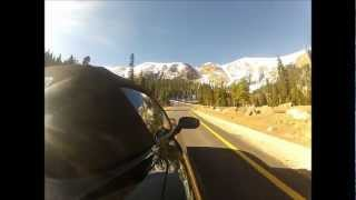 Pikes Peak Highway Full Pavement Side View