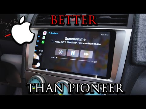 Amazing Head Unit For Camry 2006 To 2011 | Install