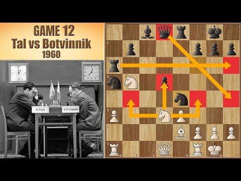 Botvinnik's Engine Move | Tal vs Botvinnik 1960. | Game 12