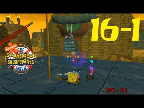 SpongeBob Movie Game - Part 16 (Welcome to Planktopolis... Minions) 1080p