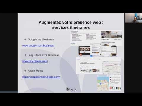 Webinaire - Aborder les médias sociaux  et le web à son avantage!
