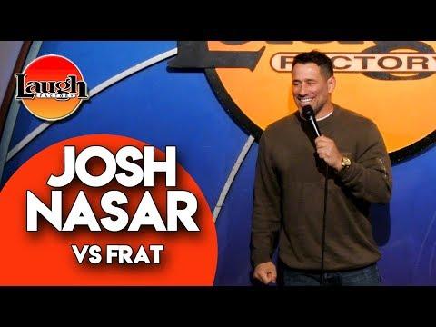 Josh Nasar vs Frat | Stand-Up Comedy