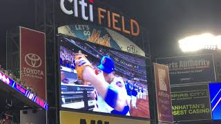 David Wright Says Goodbye - Final Time On FIeld 9/29/18 Mets vs Marlins at Citi Field