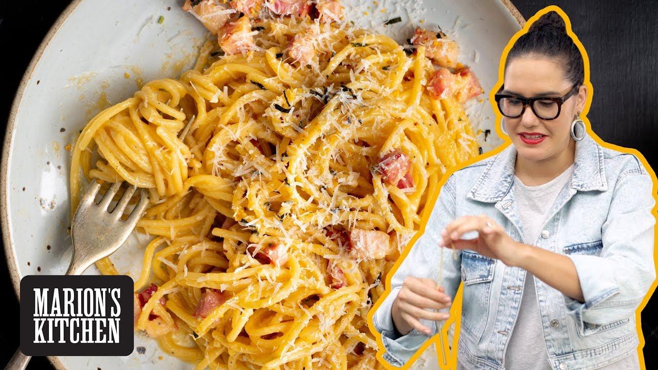 Japanese Miso Carbonara Marion S Kitchen Recipe Nation