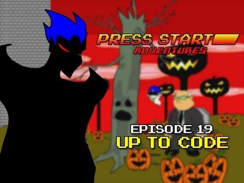 Press Start Adventures: Up to Code