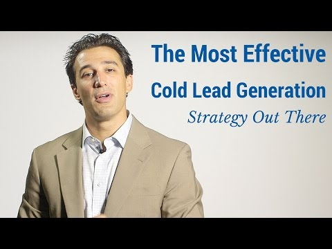 The Most Effective Cold Lead Generation Strategy Out There