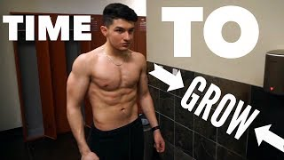Time to GROW | 17 Year Old Bodybuilder | Building Mass Ep.12