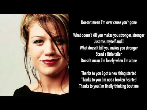 Great Song 2012 : What Doesn't Kill You (Stronger) by Kelly Carlson with Lyrics