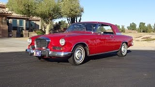 1963 Studebaker GT Hawk Gran Turismo in Regal Red & Engine Sound on My Car Story with Lou Costabile