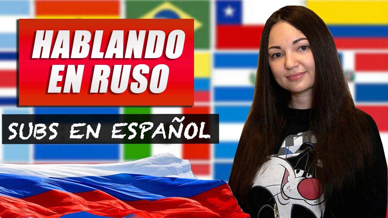 25 cosas sobre mi - HABLANDO en RUSO | Cristina Rusa Vlogs