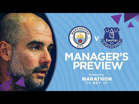 PRESS CONFERENCE | Pep Guardiola | Man City v Everton