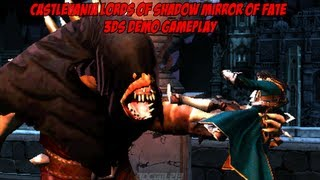 Castlevania: Lords of Shadow - Mirror of Fate 3DS Demo Gameplay Footage