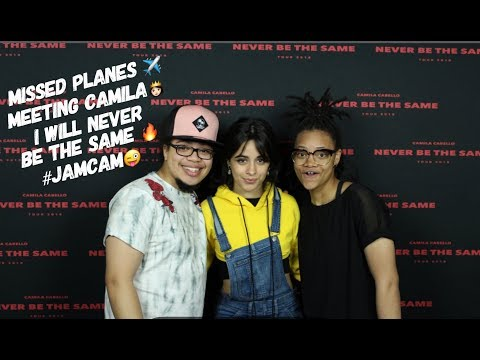 MISSED PLANES ✈️ MEETING CAMILA CABELLO 👸🏻 I WILL NEVER BE THE SAME 😭 #JAMCAM VLOG
