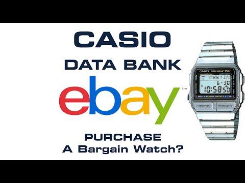 Casio Data Bank EBay Bargain Find - Watch Cleaning