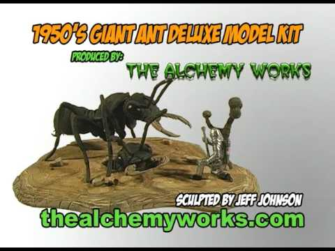 Monster Model Review #118 The Giant Ant by The Alchemy Works