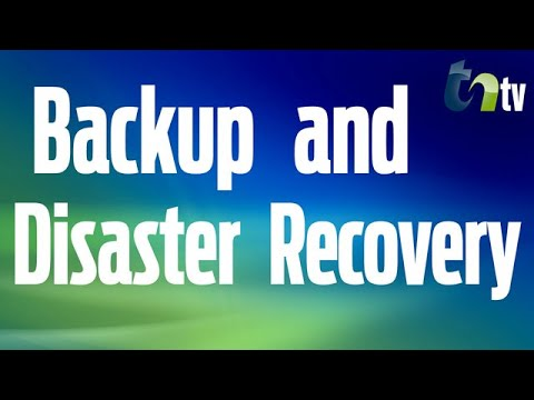 Developing A Disaster Recovery & Business Continuity Plan