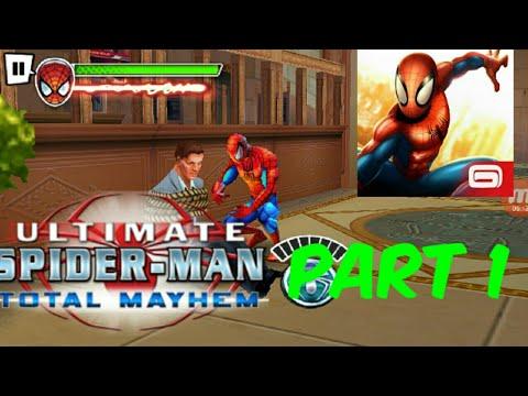 Spider-Man Total Mayhem Andriod/IOS GAMEPLAY PART 1|Adobo Kid