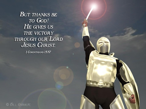 Image result for thanks be to god who gives us the victory